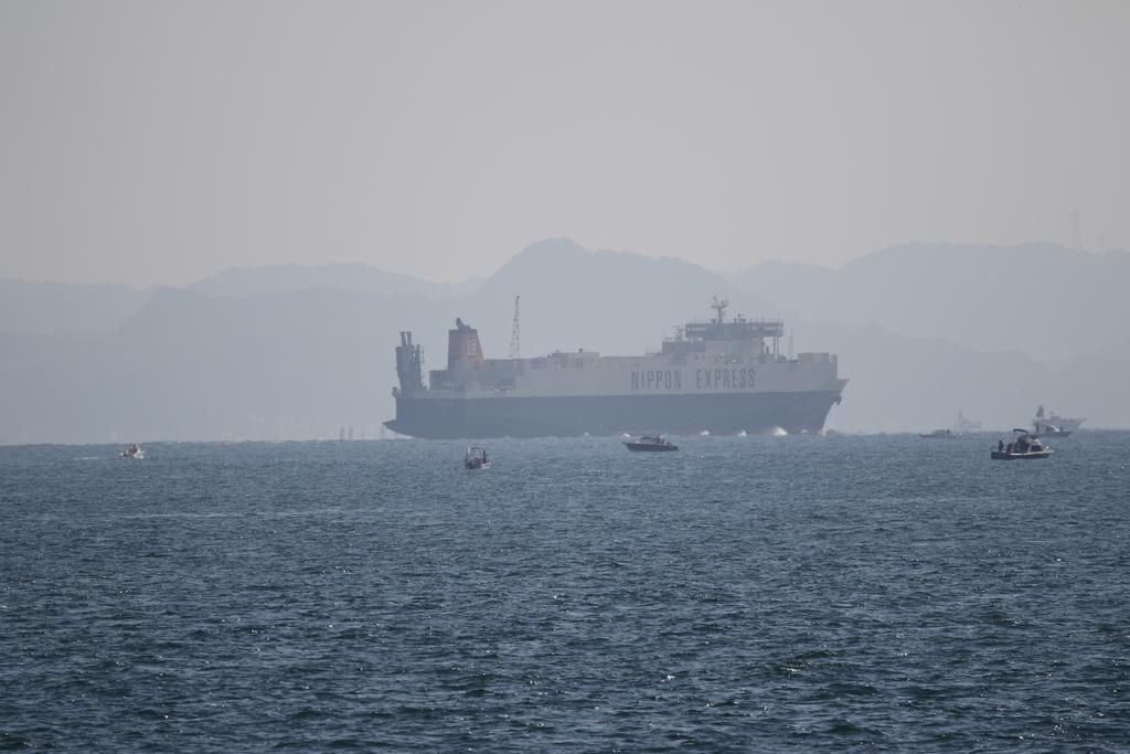 今度はあの船舶との交差が_8
