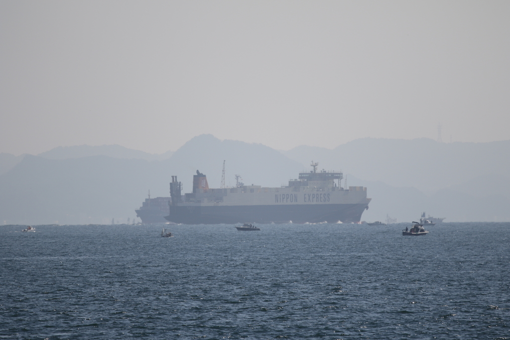 今度はあの船舶との交差が_9