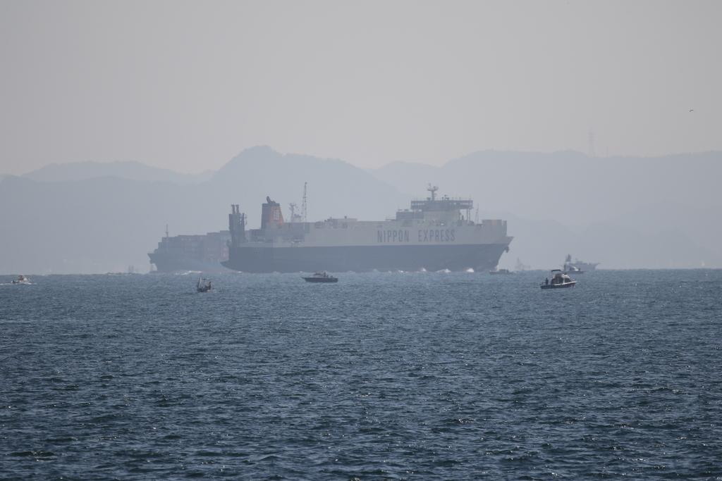 今度はあの船舶との交差が_10