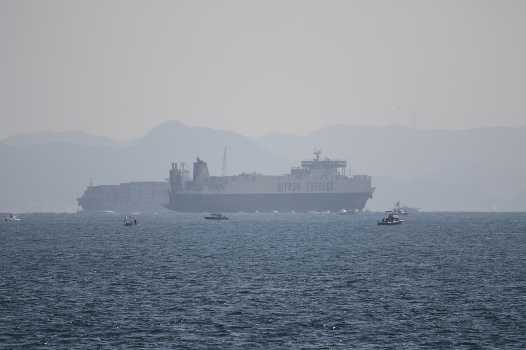 今度はあの船舶との交差が_11