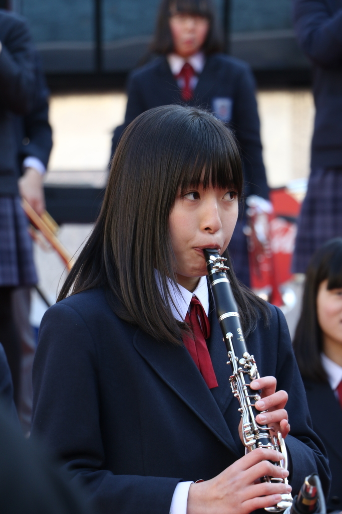 横浜市立港中学校吹奏楽部の記念演奏_16