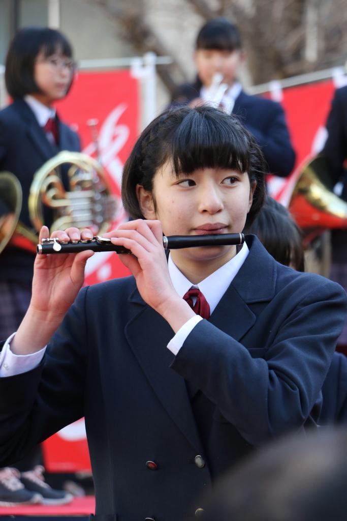 横浜市立港中学校吹奏楽部の記念演奏_20