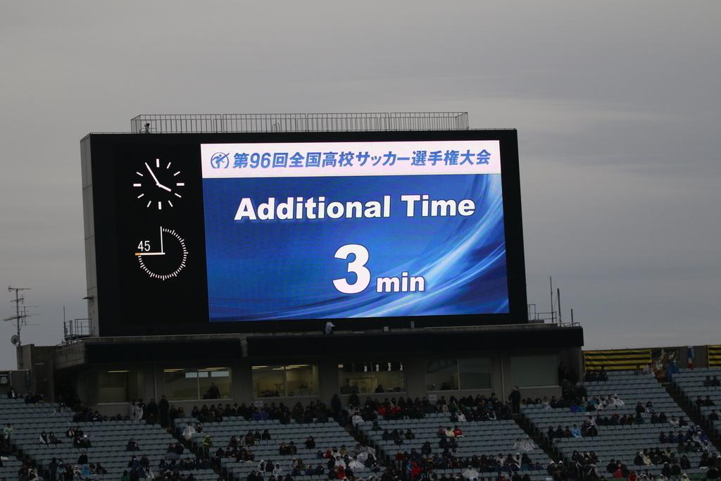 Additional Timeは3分