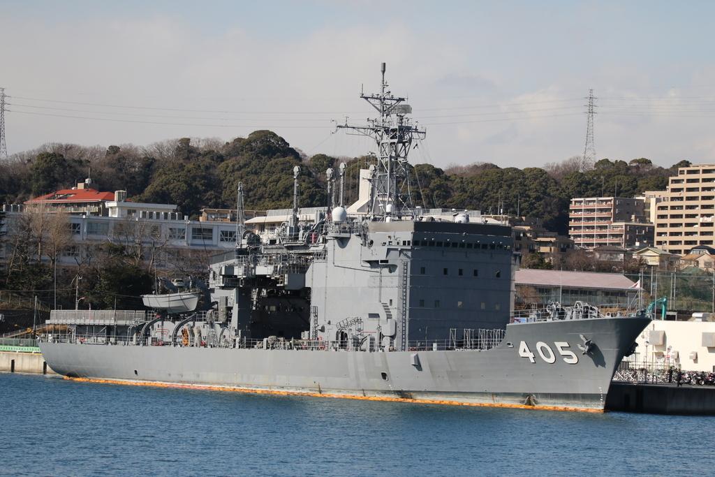 405は、潜水艦救難母艦『とよだ』_1