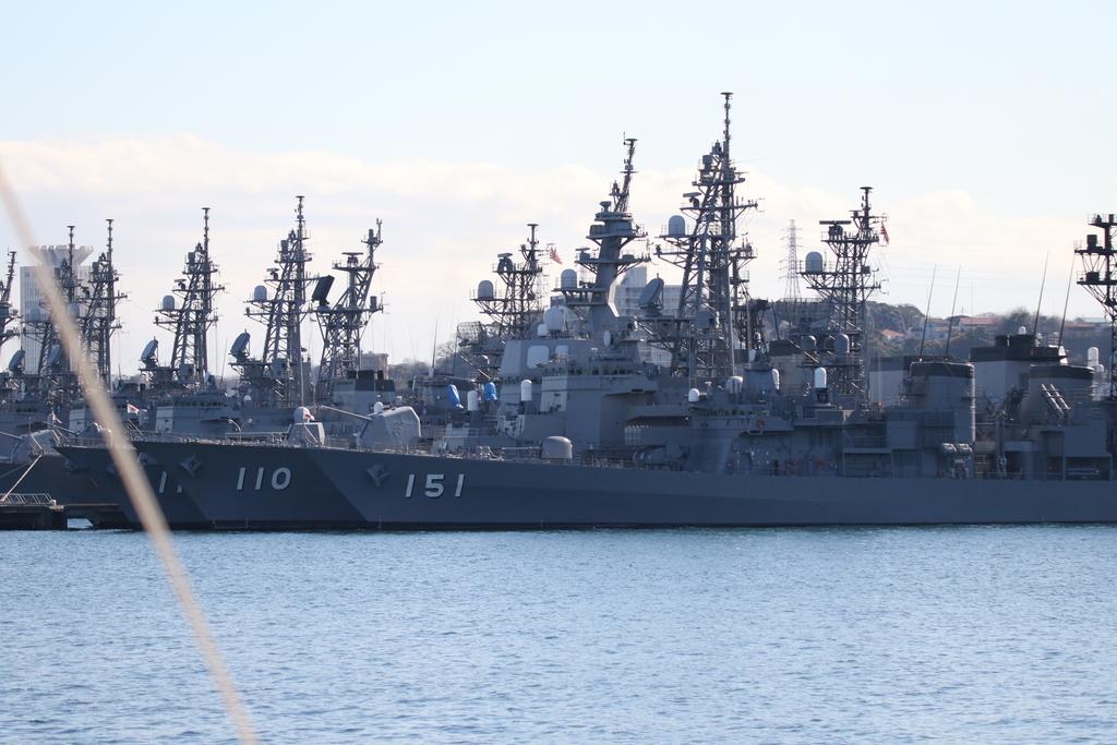 全部で10艦が揃った光景_1