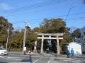 180210西側から三嶋大社へ