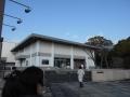 180211開門直前に佐野美術館に到着
