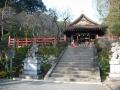 180121建勲神社本殿前