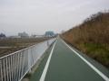 180203葛城川に沿って下っていく