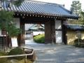 180224大覚寺の門をくぐる