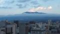 180211今日は宿から富士山ビュー