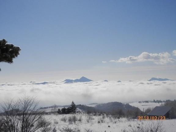 バラギ高原よりの雲海です