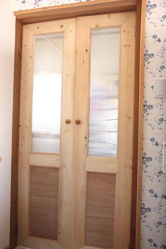 DIY間仕切りドア