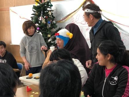kクリスマス会2017年二人羽織り