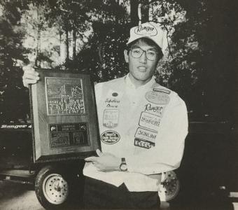 1996年4月のB.A.S.S.ミズーリインビテーショナルトーナメントで初優勝したときの大森貴洋プロ