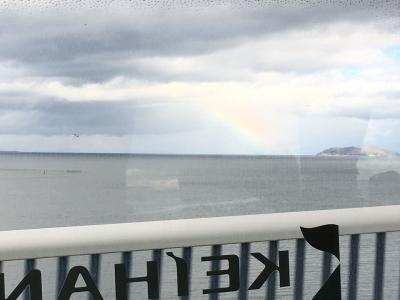 琵琶湖大橋から眺めた北湖(12月1日12時40分頃)