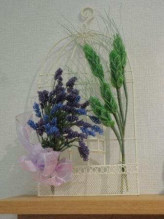 青麦とラベンダー①