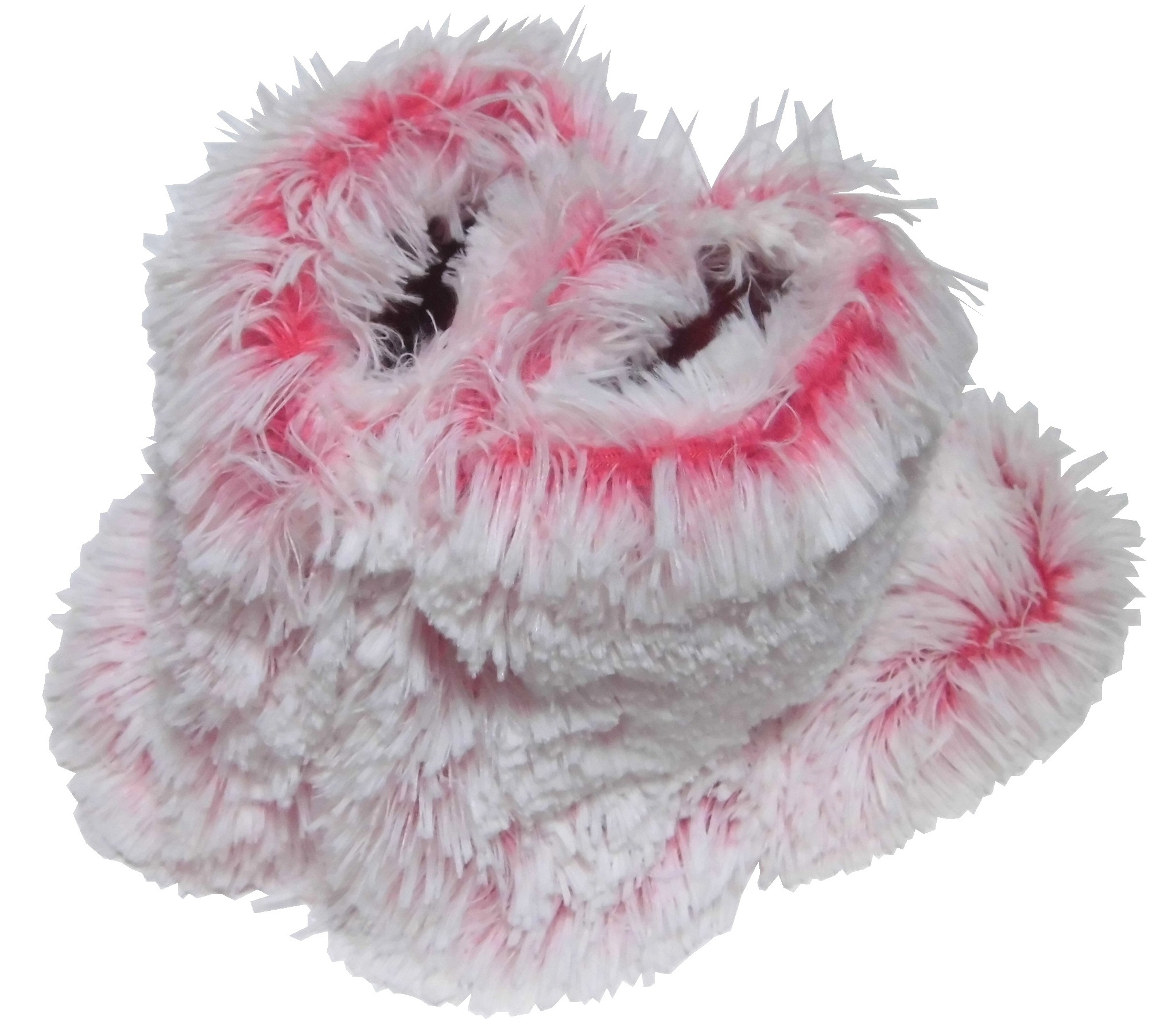 Maddison Faux Fur Slipper Boots pink (5)