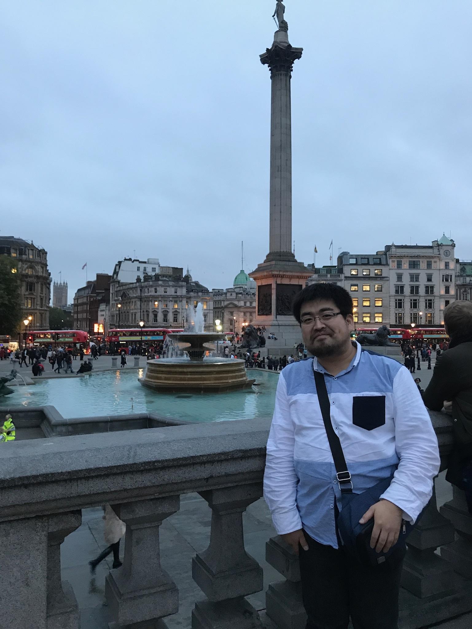 『ロンドンの小景』をたずねて②~トラファルガー広場~