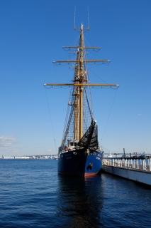 10みなとみらい臨港パーク帆船MIRAI