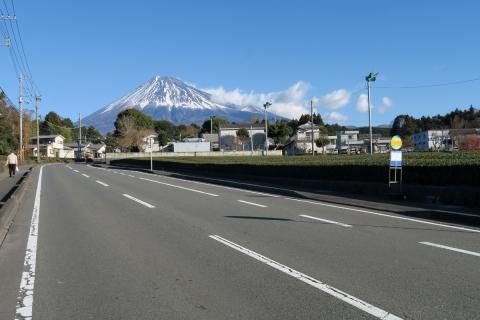 05雲が出てきた富士山
