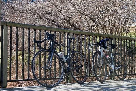 12田貫湖自転車たち
