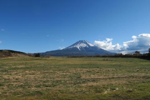 16朝霧高原の富士山