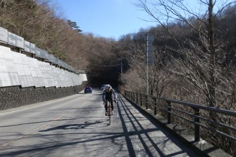 20籠坂峠へ記憶に残る上り坂