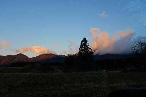 05早朝の朝霧高原へ
