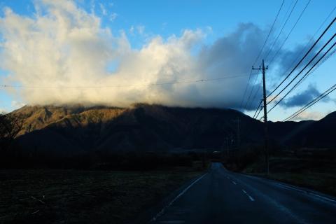 07早朝の朝霧高原へ