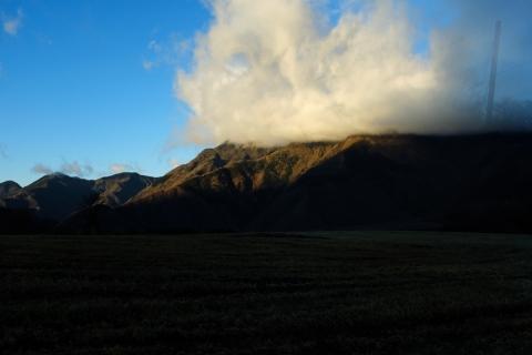 08早朝の朝霧高原へ