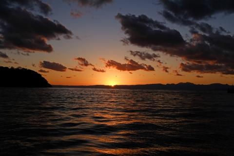 19江の島落日