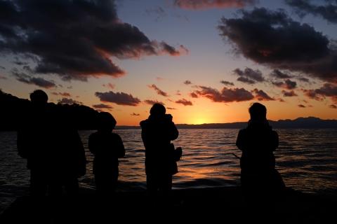20江の島落日