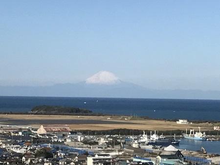 20171125房総半島(館山市)からの富士06