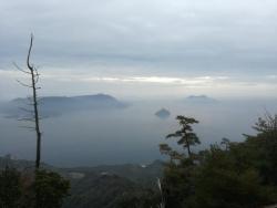 弥山からの多島美