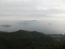 宮島ロープウエーからの眺望