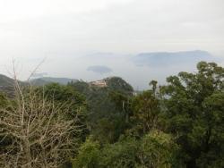 弥山:山頂からの眺望