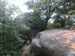 弥山:干満岩