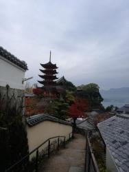 宮島:五重塔と千畳閣