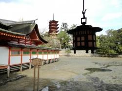 宮島:厳島神社 鏡の池