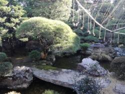山本亭 庭園