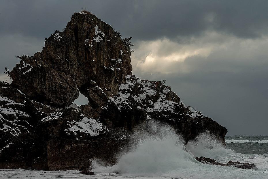 2018.01.12 窓岩の雪景色 2