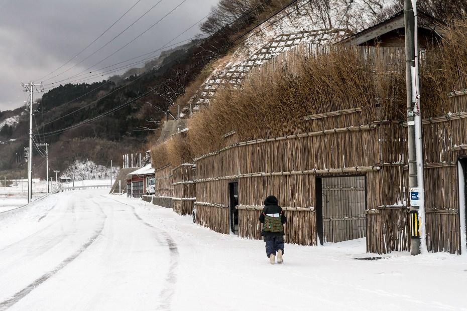 2018.01.26 上大沢の雪景色 4