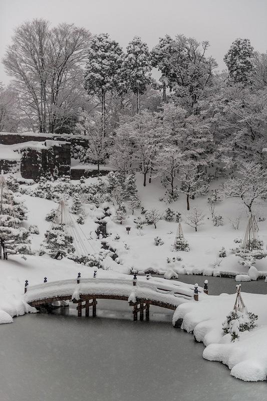 2018.02.05 玉泉院丸庭園の雪景色 3