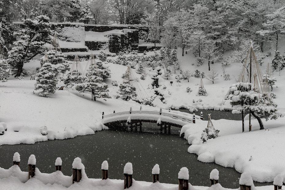 2018.02.05 玉泉院丸庭園の雪景色 2