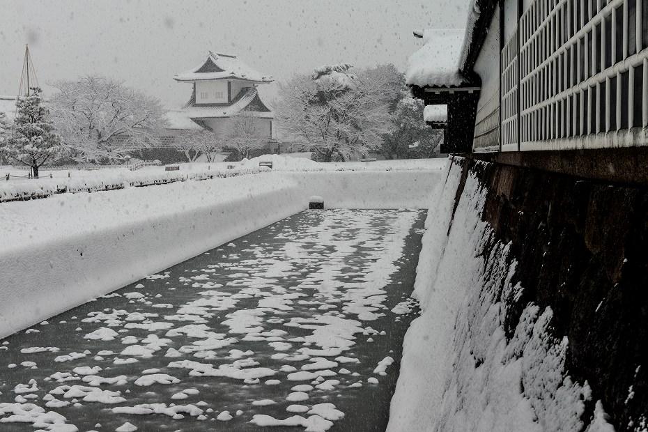 2018.02.05 金沢城の雪景色 2