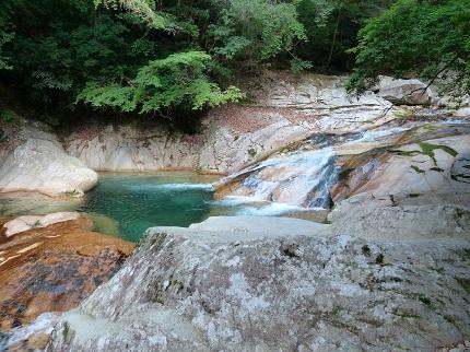 笹の滝_渓流1
