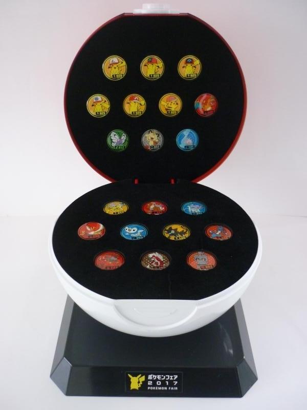 GET!! POKE PINS モンスターボール型ディスプレイ 収納