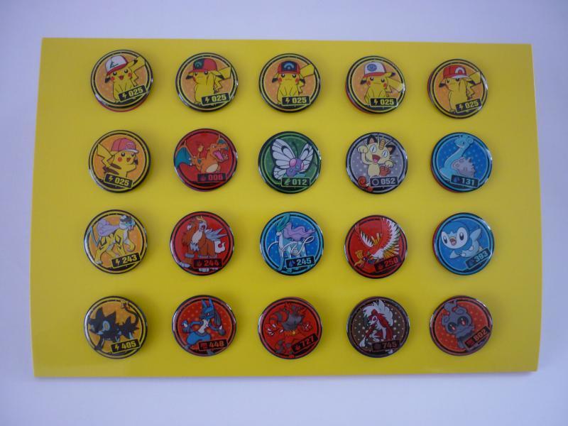 GET!! POKE PINS モンスターボール型ディスプレイ ピンズ