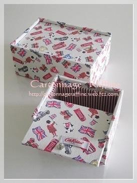 スライド式の蓋の箱3